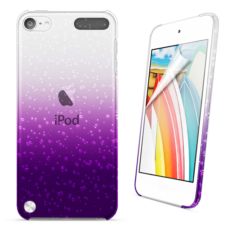 3d rain drop design hard case cover for apple touch5 ipod for Housse ipod touch 5