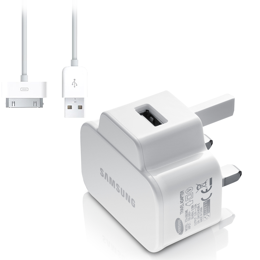 ... SAMSUNG GALAXY TAB 2 10 1 P5110 7 1 UK MAINS CHARGER WHITE | eBay