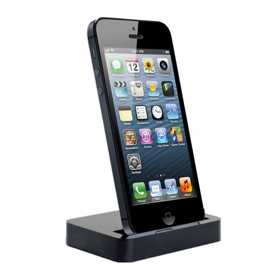 charging dock desktop stand docking station for apple. Black Bedroom Furniture Sets. Home Design Ideas