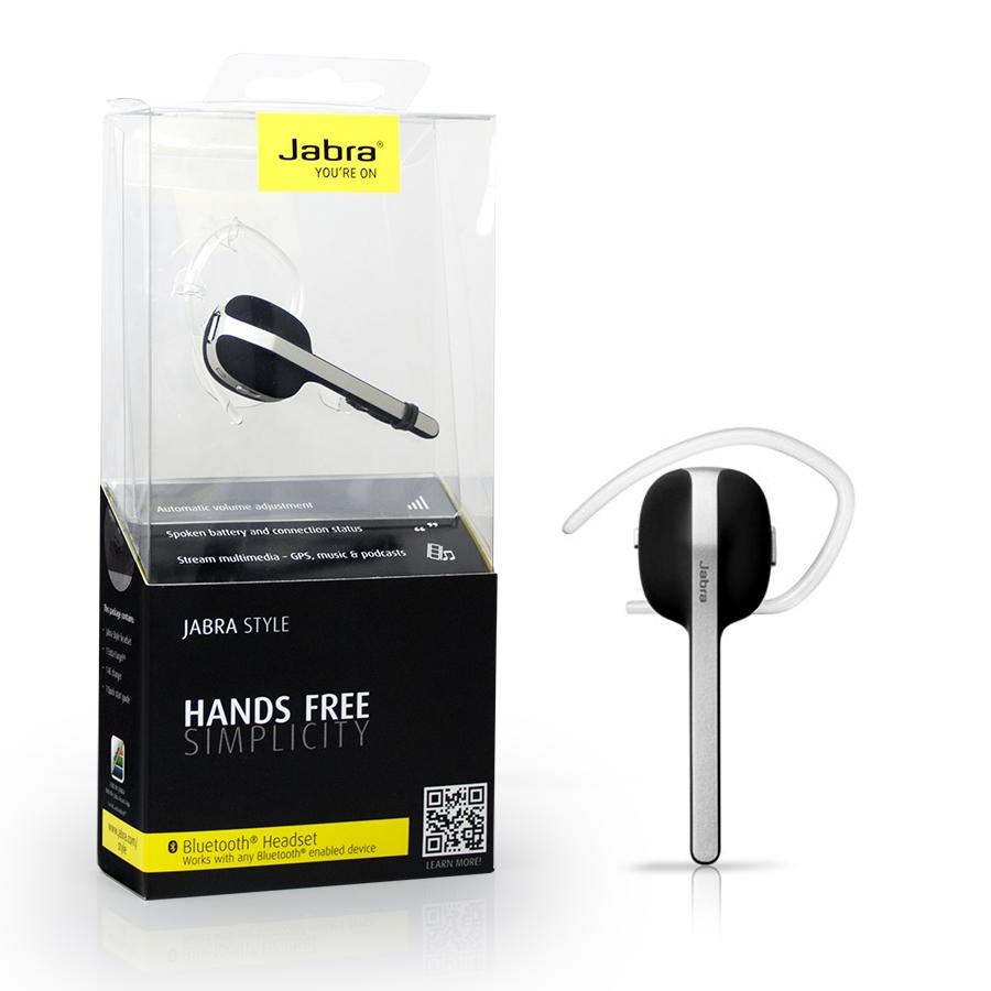 genuine brand new jabra style bluetooth mono headset in. Black Bedroom Furniture Sets. Home Design Ideas