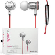 Beats by Dr. Dre urbeats In-Ear only Headphones - Chrome/White - Retail Packaged
