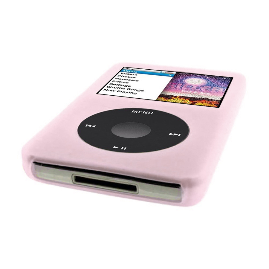 ipod classic 6g 6th generation 160gb 80gb pink silicone. Black Bedroom Furniture Sets. Home Design Ideas