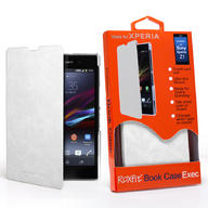 GENUINE SONY ORIGINAL Xperia Z1 EXECUTIVE WALLET BOOK CASE COVER SMA5136W
