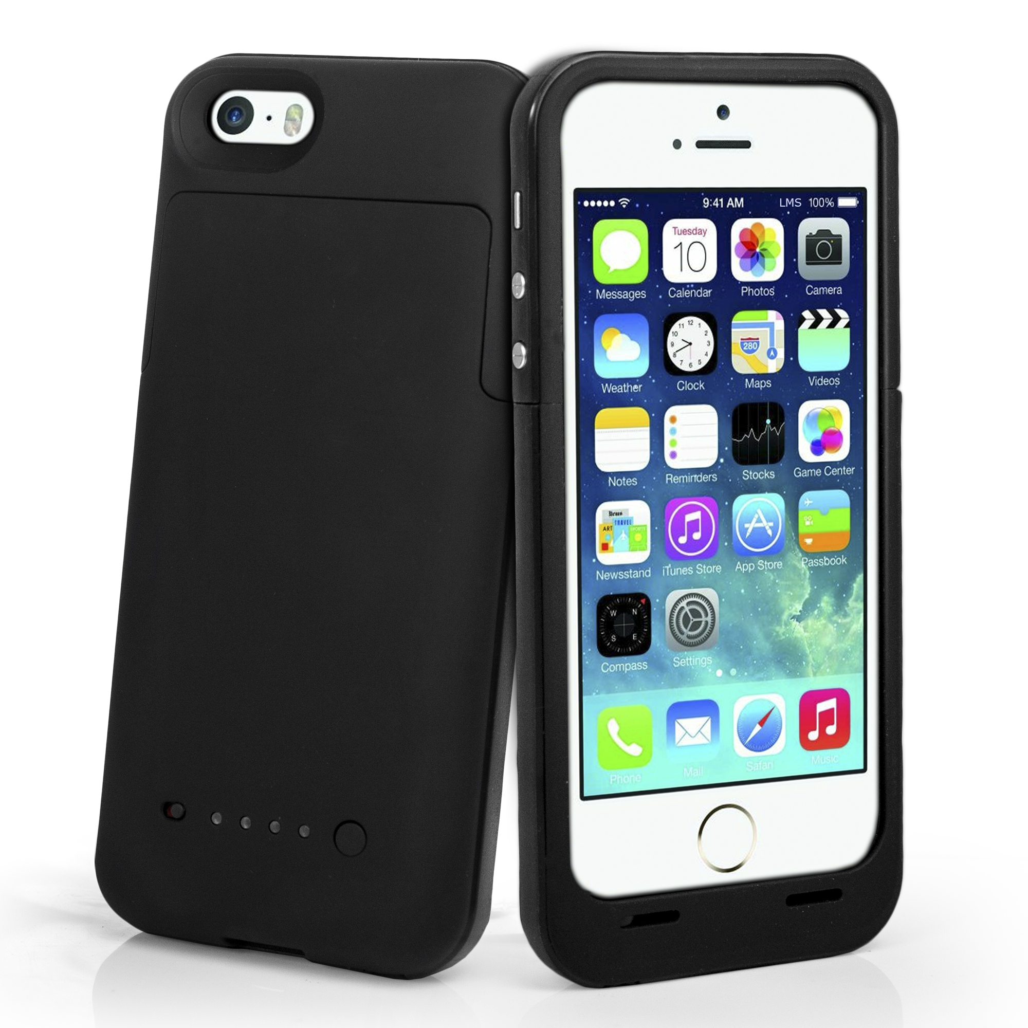 Mophie Juice Pack Air 1700 mah Battery Case for iPhone 5 - Black