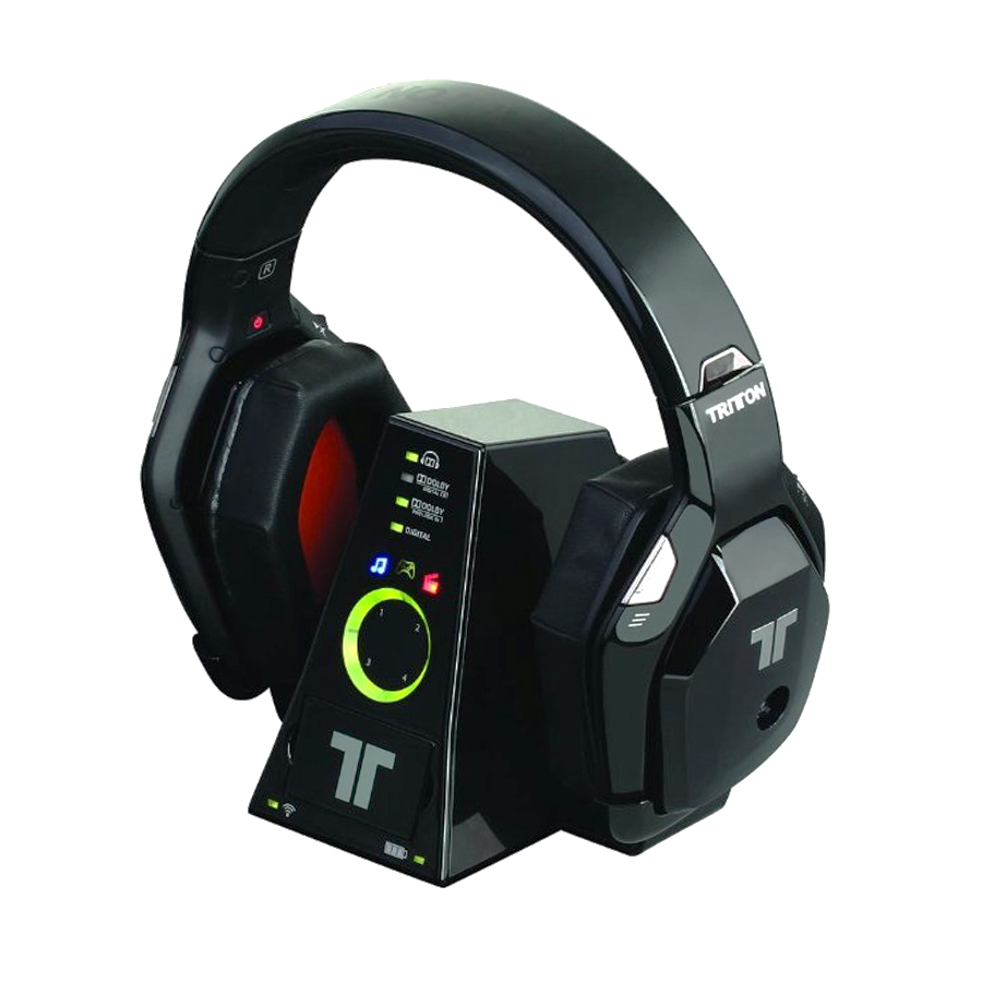 tritton warhead 7 1 dolby wireless surround headset for xbox 360 ebay. Black Bedroom Furniture Sets. Home Design Ideas