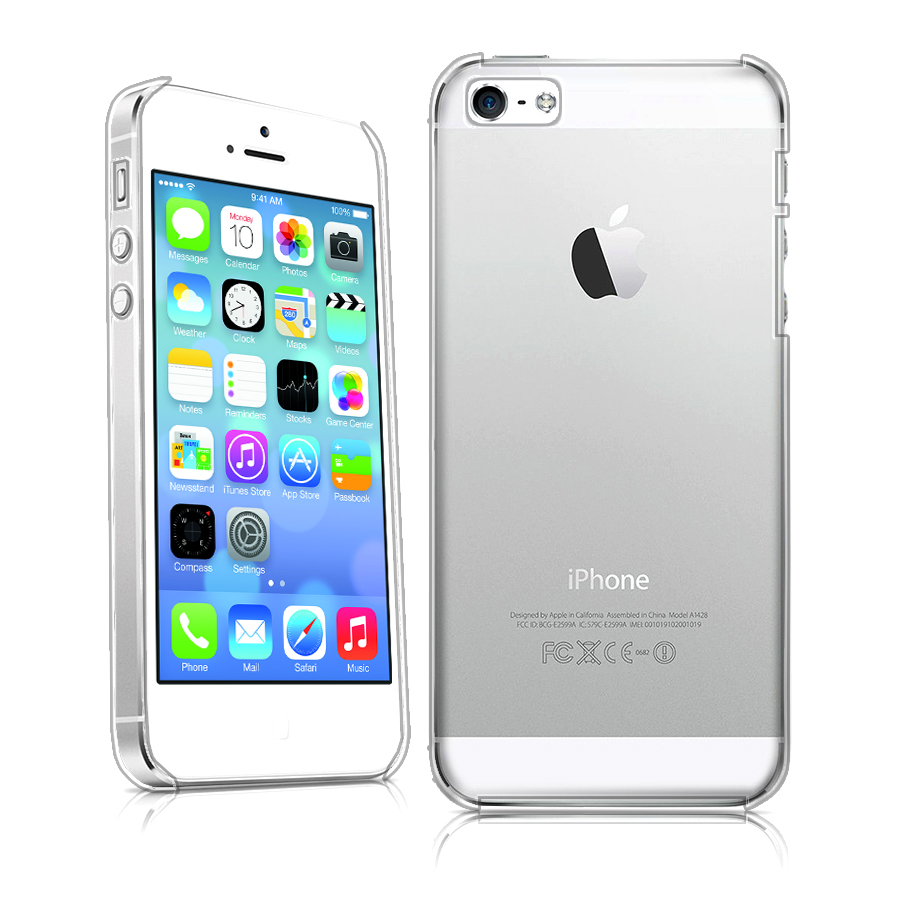 ULTRA THIN Clear Crystal Thin Hard Case Cover for Apple iPhone5 iPhone 5S