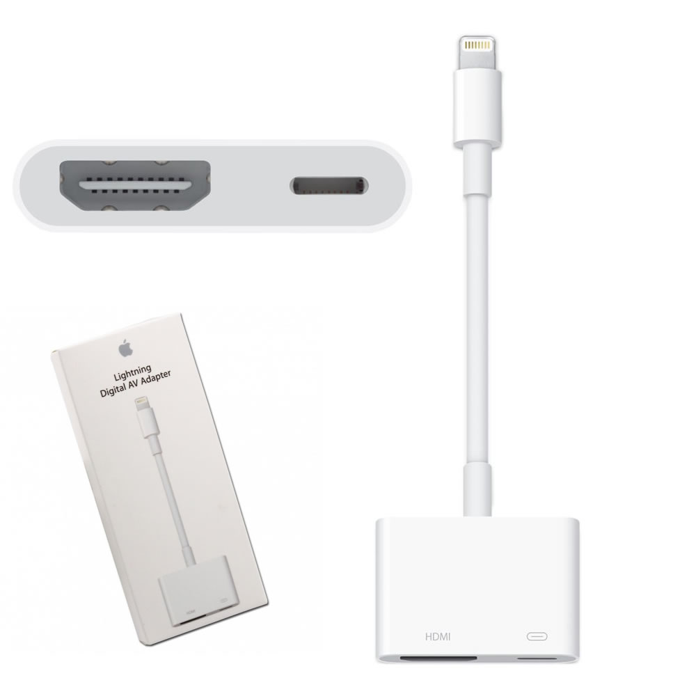 how to connect ipad to tv using hdmi adapter