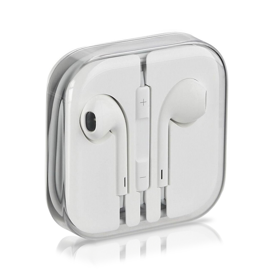 genuine apple iphone 5 5s headphone earpods earbuds earphones handsfree with mic ebay. Black Bedroom Furniture Sets. Home Design Ideas