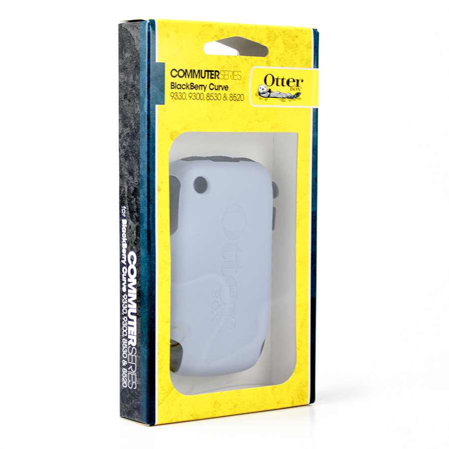 OtterBox Commuter Case Cover for BlackBerry 9300 Curve - Slate/Black