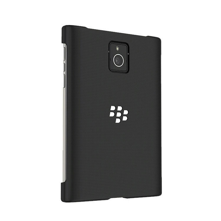Genuine Blackberry Passport Duro Hard Shell Case Cover Black Acc 59523