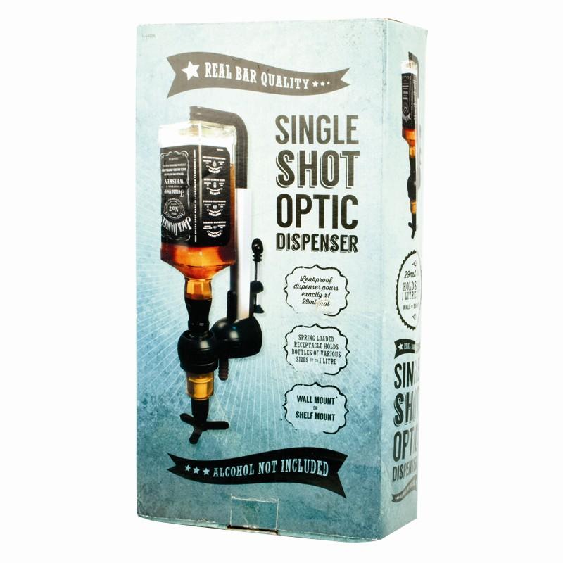 Single Shot Dispenser ~ Single shot home bar optic bottle drink holder dispenser