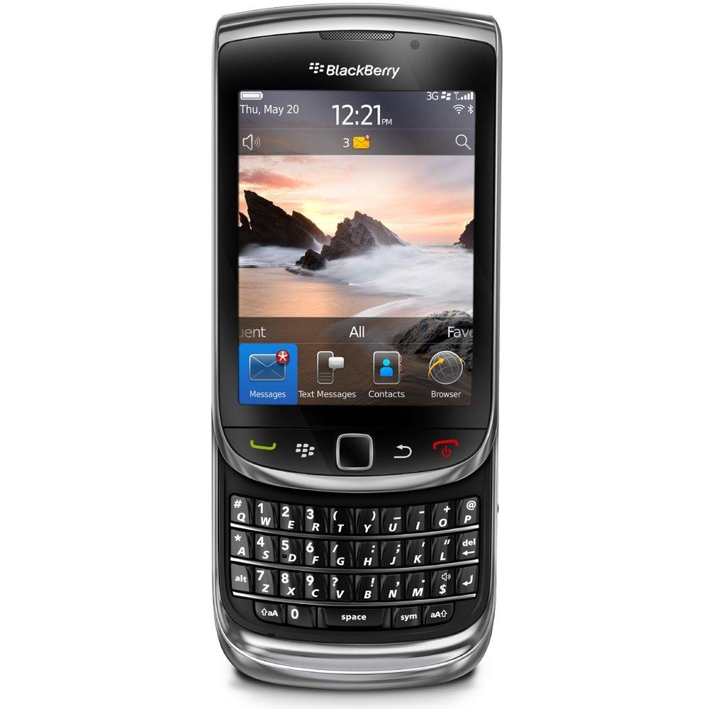 BlackBerry Torch 9800 - 4GB - Black (Unlocked) Smartphone ...