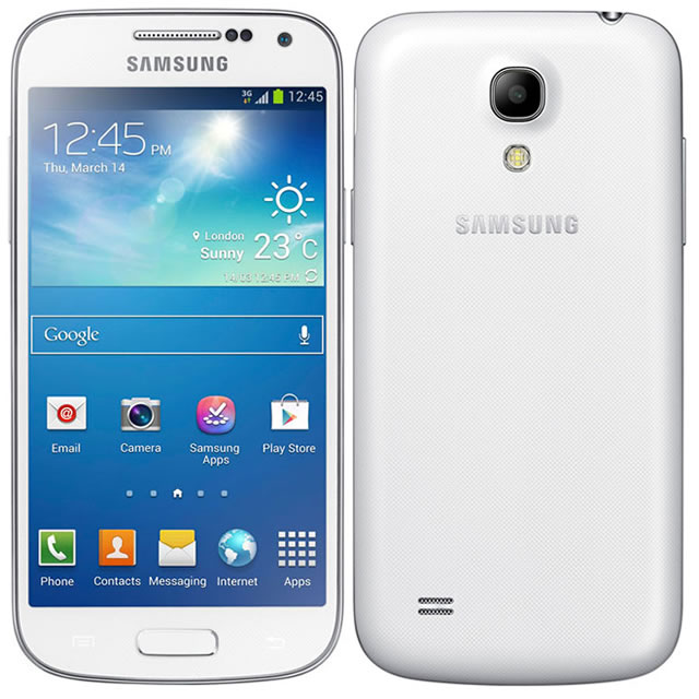 samsung galaxy s4 mini gt i9195 8gb white unlocked. Black Bedroom Furniture Sets. Home Design Ideas