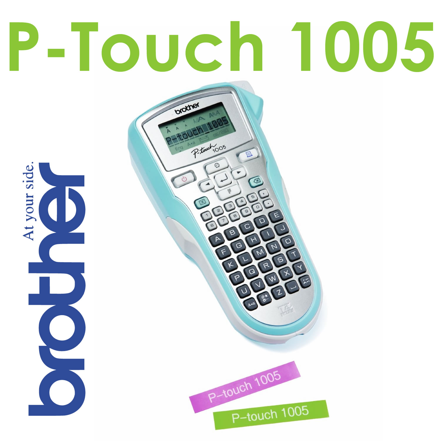 brother p touch 1010 hand held label printer handheld. Black Bedroom Furniture Sets. Home Design Ideas