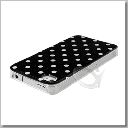 IMD Hard Back Case Cover with Screen Protector for Apple iPhone 4S 4G