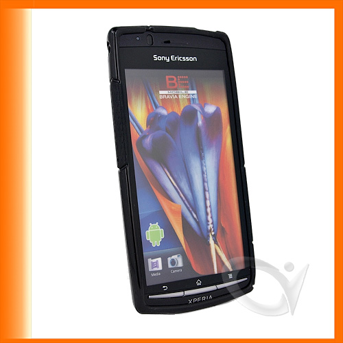 SLine TPU Case Cover with Screen Protector for Sony ericsson Xperia Arc & Arc S