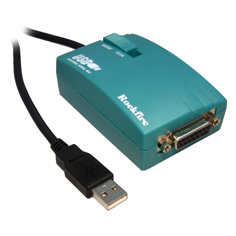 1 8m Usb To 15 Pin Joystick Flightstick Gameport Converter