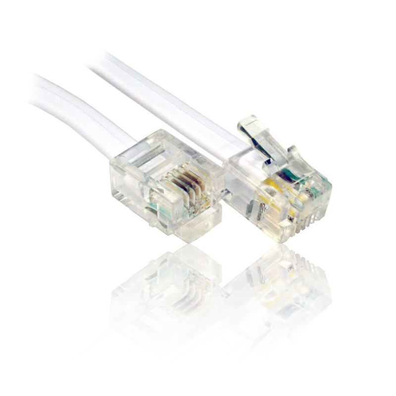 15m adsl rj11 cable lead wire for use with bt broadband router modem home hub - Cable adsl rj11 ...
