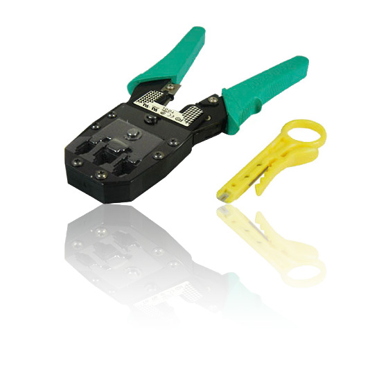 rj45 rj11 crimping tool crimps 8p8c 6p6c 4p4c plugs inc insertion tool. Black Bedroom Furniture Sets. Home Design Ideas