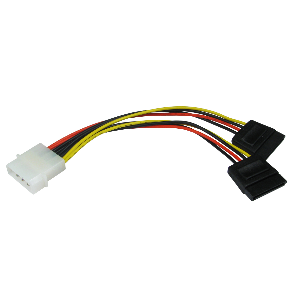 Sata Power Splitter : Molex to sata serial ata power splitter hdd cable lead