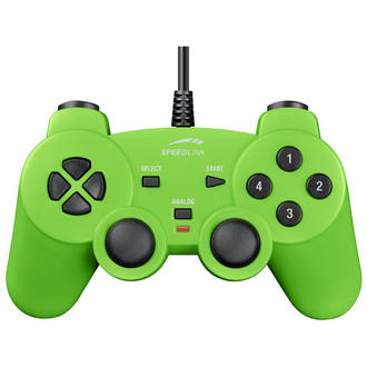 SPEEDLINK Strike USB PC Computer Joypad Gamepad Controller Green
