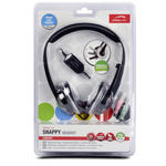 Stereo Headphones Earphones Headset with Microphone Mic for Skype MSN Yahoo IM