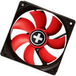 XILENCE 80mm 8cm PC Computer Tower Case Fan Red Wing for Internal Cooling