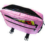 "Girlie Pink 15.4"" Widescreen Laptop Bag/Case with Pockets & Strap"