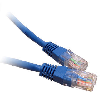 0.5m 50cm Blue CAT 6 CAT6 Gigabit 10/100/1000 Network Ethernet Patch Cable Lead