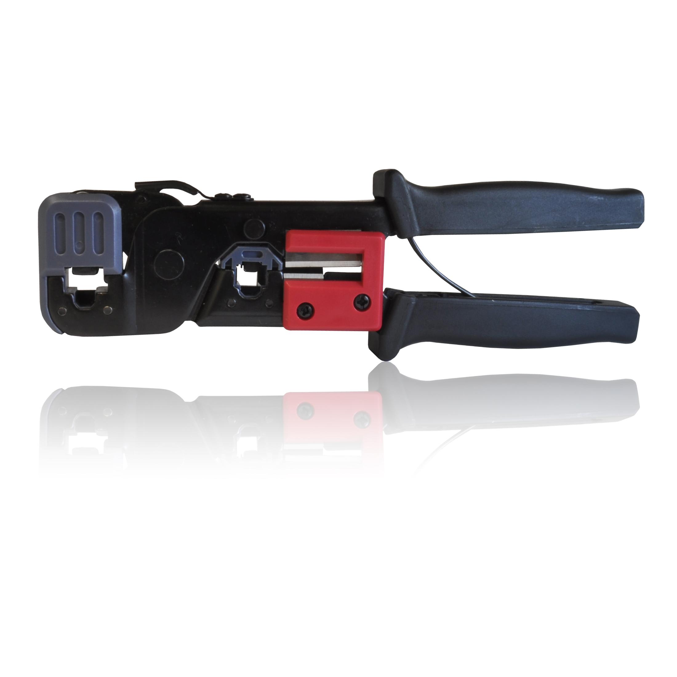 crimp crimping tool for rj45 rj 45 rj11 rj 11 8p8c 6p6c plugs cat 5 5e 6. Black Bedroom Furniture Sets. Home Design Ideas