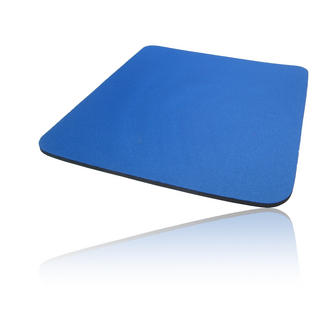 Hard Foam Cloth Covered PC Computer Mice Mouse Mat / Pad Blue