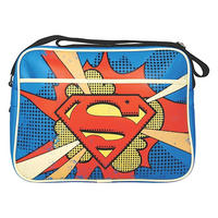 Superman Pop Art Logo Shoulder Bag
