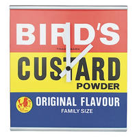Bird's Custard Powder Wall Clock