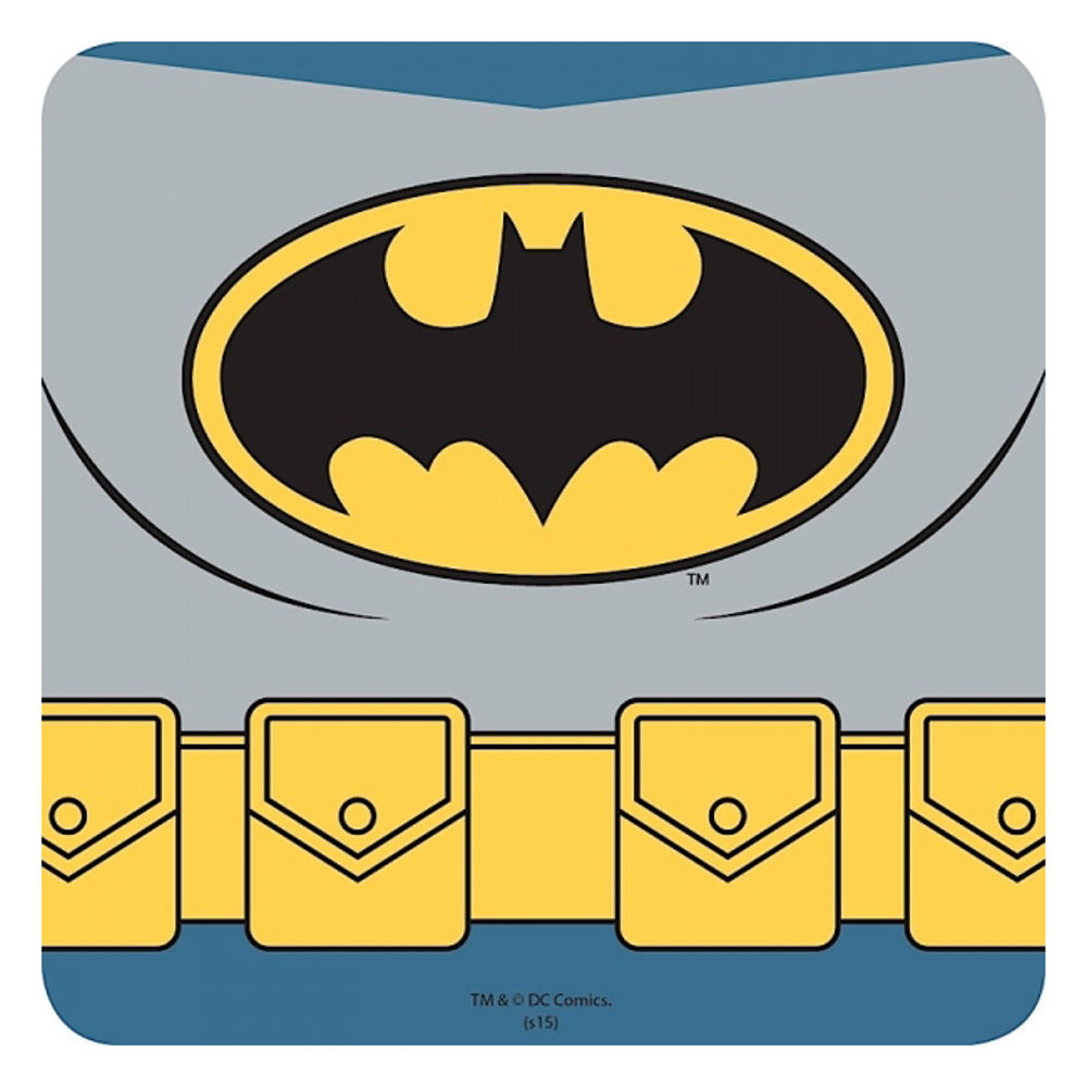Batman Costume Single Coaster