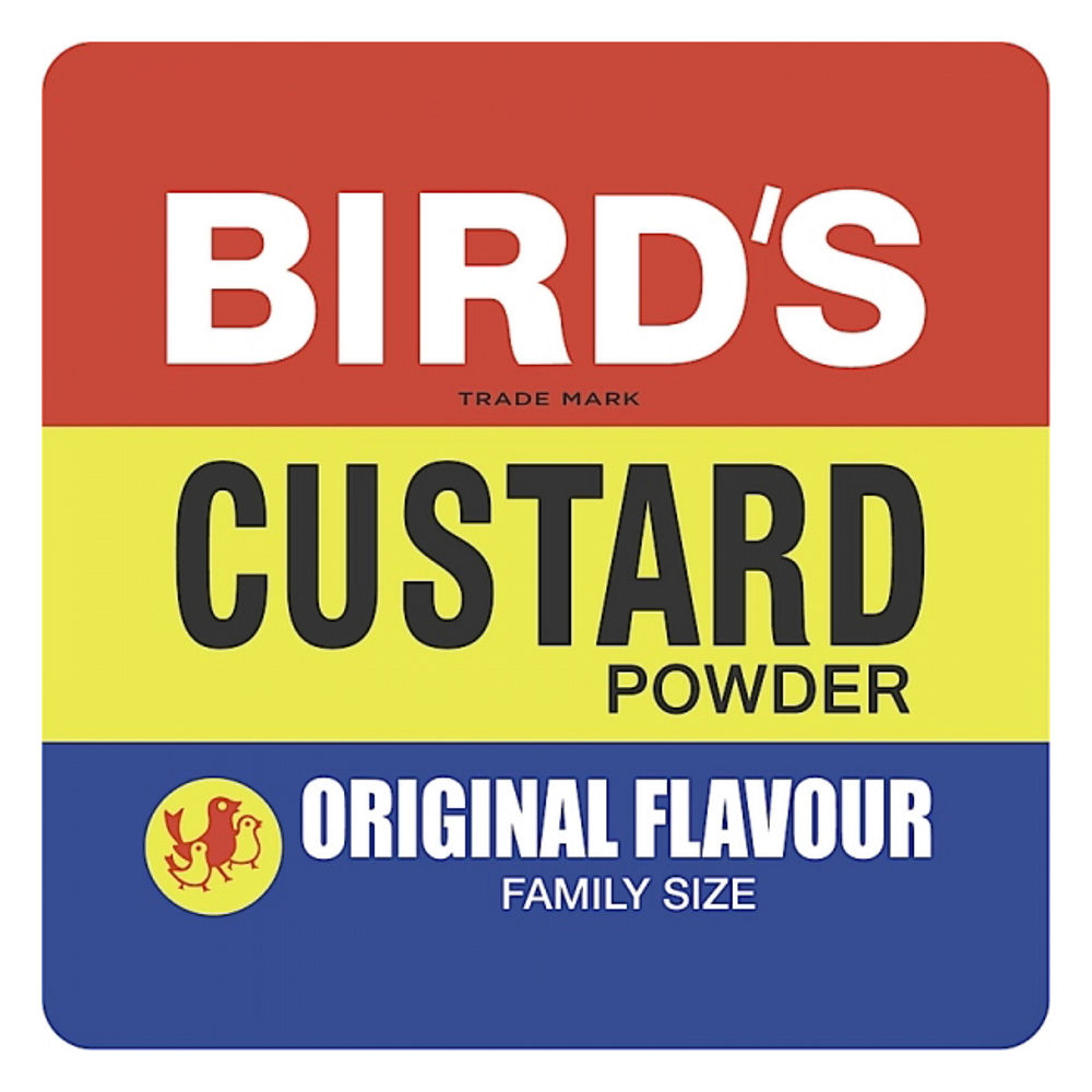Bird's Custard Single Coaster