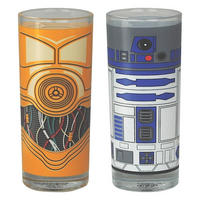 Star Wars R2-D2 & C-3PO Set Of 2 Glasses
