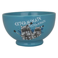 Doctor Who Daleks Exterminate Ceramic Bowl