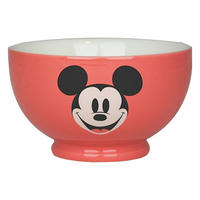 Pink Mickey Mouse Ceramic Bowl