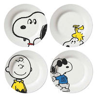 Snoopy Characters Set of 4 Side Plates