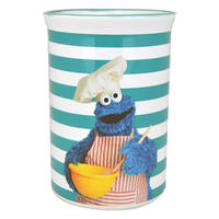 Cookie Monster Ceramic Utensils Jar