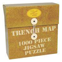 WW1 Trench Map Jigsaw Puzzle (1000 Pieces)