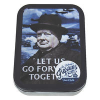 Churchill Let Us Go Foward Together Jigsaw Puzzle In A Collectors Tin (150 Pieces)