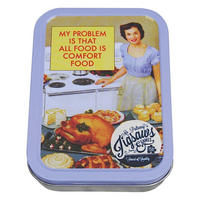 My Problem Is That All Food Is Comfort Food Jigsaw Puzzle In A Tin (150 Pieces)