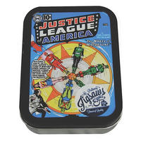 Justice League Wheel Of Fortune Jigsaw Puzzle In A Tin (150 Pieces)