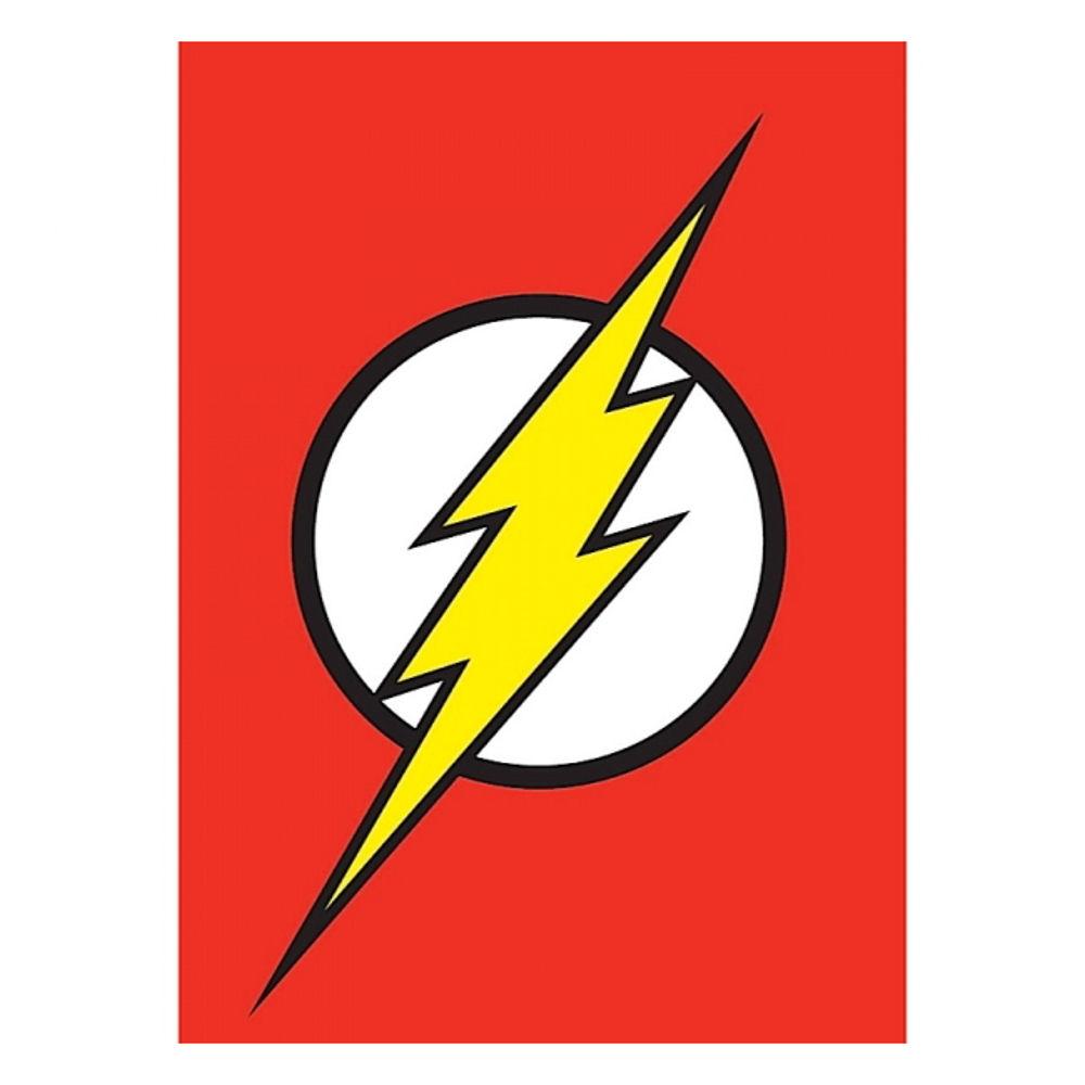 Justice League Flash Logo Fridge Magnet Dc Comics Gift