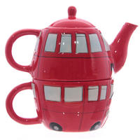 London Routemaster Bus Teapot & Cup Set Thumbnail 3