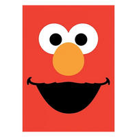Sesame Street Elmo Face Fridge Magnet