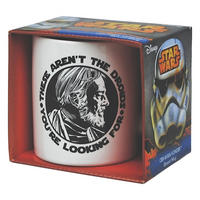"Obi Wan Kenobi ""These Aren't The Droids You're Looking For"" Mug"