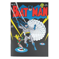 Batman Comic Style Paperback Notebook