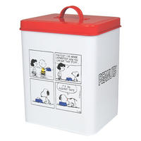 "Snoopy ""Acquired Taste"" Enamel Biscuit Tin"
